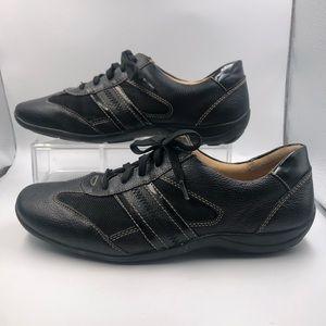 """Naturlizer Black Leather Lace up Shoe """"Floret"""" 8.5"""